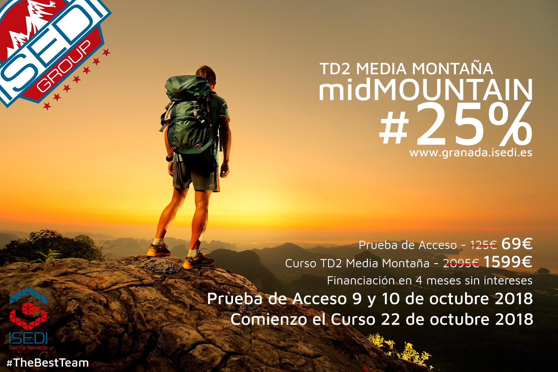 Promoción midMOUNTAIN25 | TD2 Media Montaña