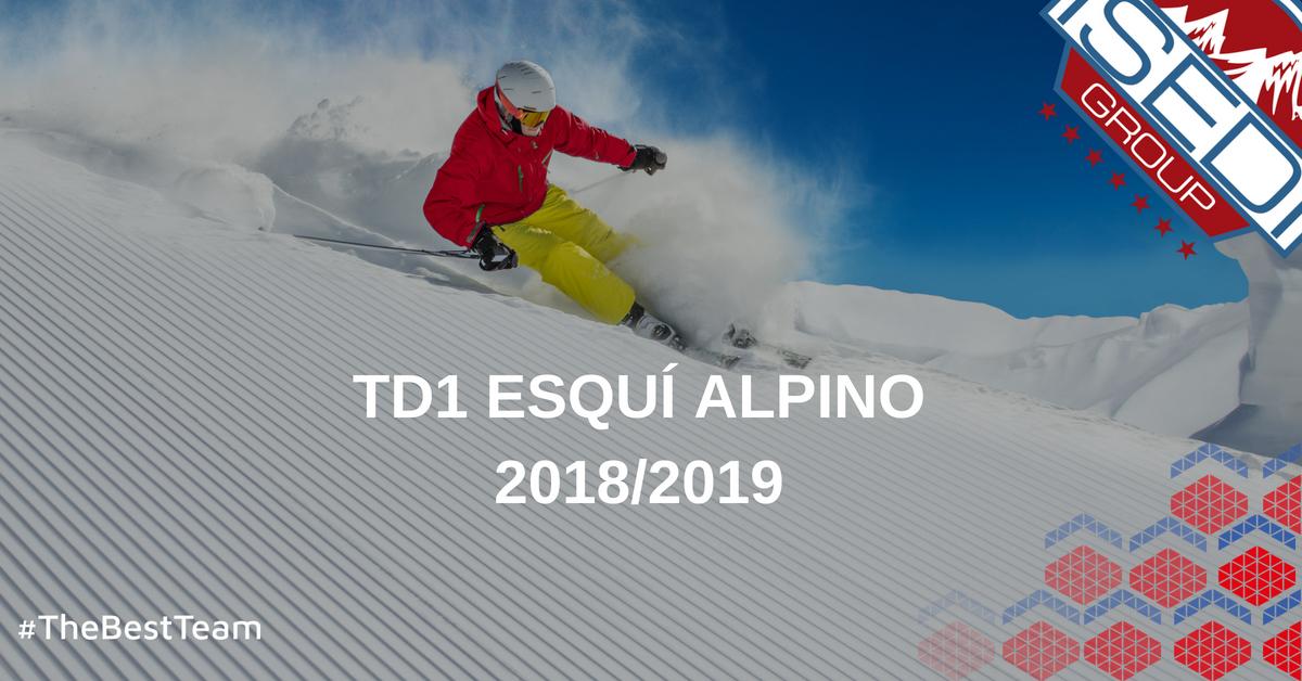TD1 Esquí Alpino 18/19 ISEDI Madrid