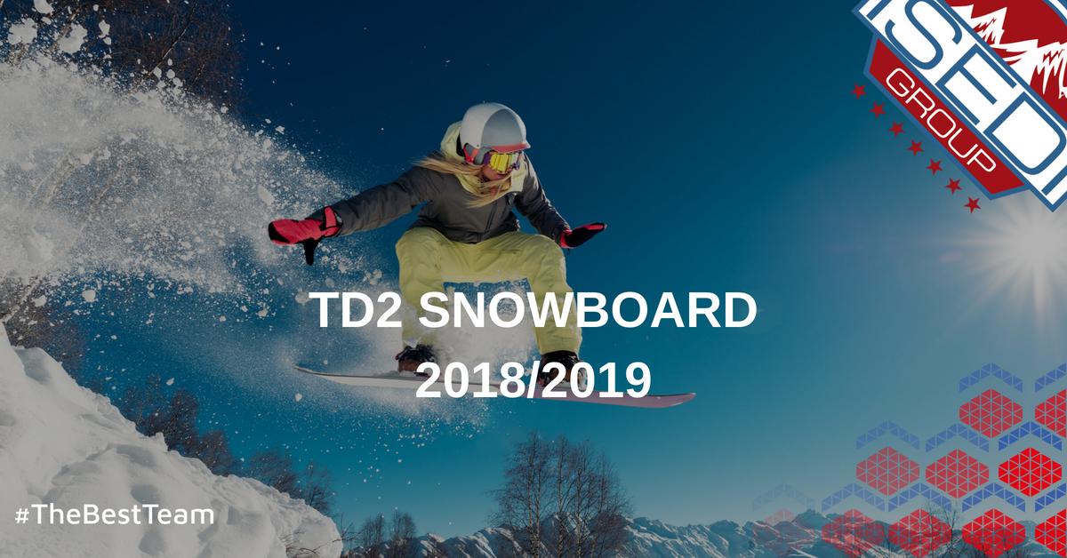 TD2 Esquí Alpino ISEDI Madrid