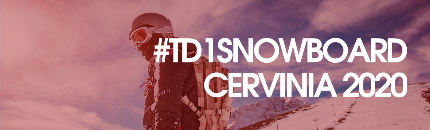 TD1 Snowboard Cervinia 2020