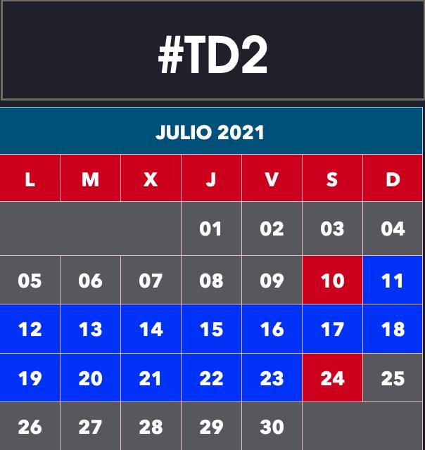 TD2 Esquí Alpino / Snowboard Cervinia 2021