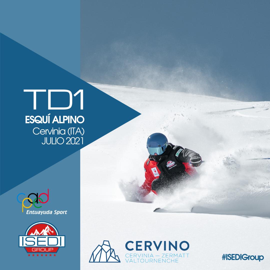 TD1 Esquí Alpino Cervinia 2021