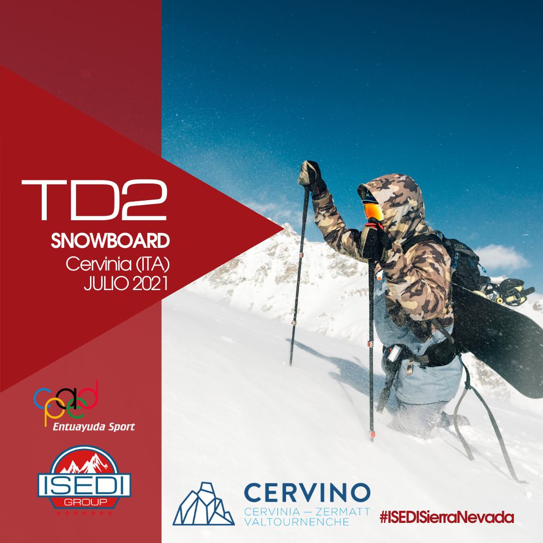 TD2 Snowboard Cervinia 2021